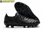 Giày sân cỏ tự nhiên Mizuno Morelia Neo III đen FG - Size 40, 41, 42