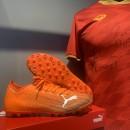 Giày đá bóng Puma Ultra 1.1 cam MG (Chính hãng) - Size 42
