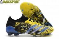 Giày sân cỏ tự nhiên Adidas Predator Freak có dây vàng FG