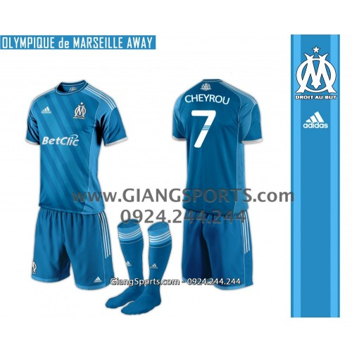 CLB Marseille 2013 2014 (Đặt may)