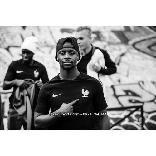 Đồng phục tuyển Pháp đen sân khách 2017 2018 - MADE IN THAILAND