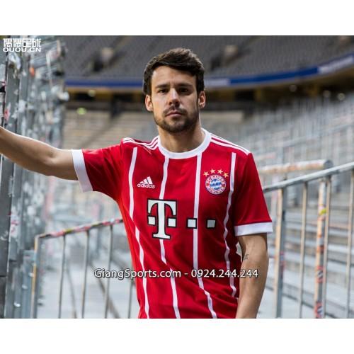 Áo thi đấu Bayern Munich sân nhà 2017 2018 - MADE IN THAILAND