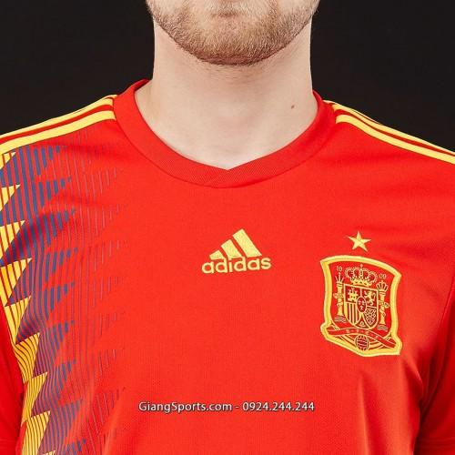 Đồng phục tuyển Tây Ban Nha sân nhà 2017 2018 - MADE IN THAILAND