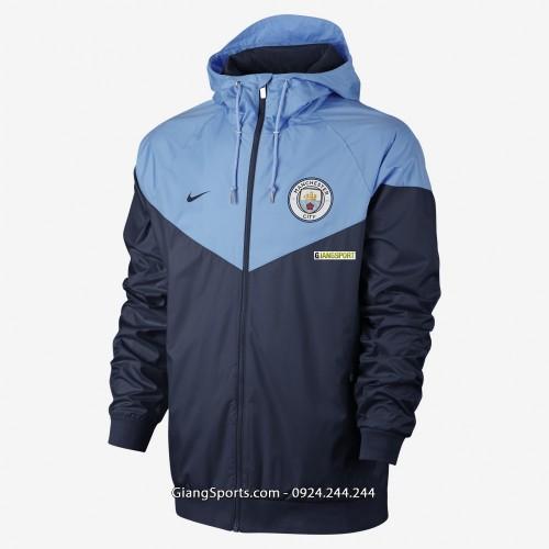 Áo khoác gió Manchester City 2018 Replica