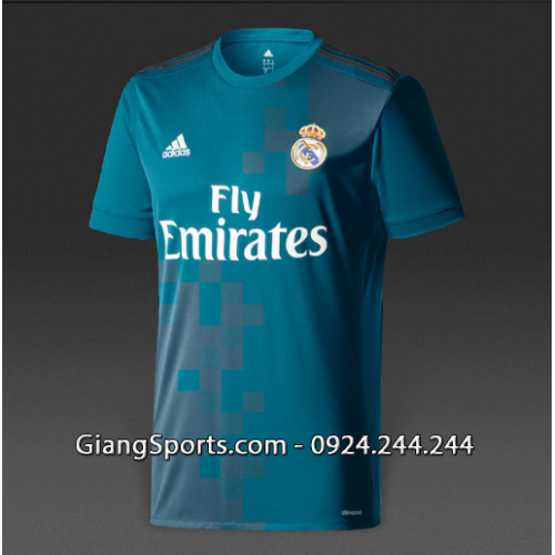 CLB Real Madrid third kid 2017 2018 (Made in Thailand)