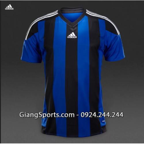 Áo thi đấu ko logo Adidas Striped (Đặt may)
