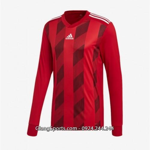 Áo thi đấu ko logo Adidas Striped 19 các màu tay dài (Đặt may)