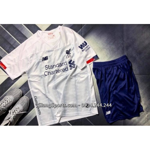 CLB Liverpool mùa giải mới 2019 - 2020 trắng (Made in Thailand)