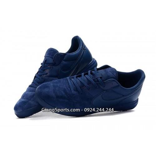Giày futsal Nike Premier II xanh navy
