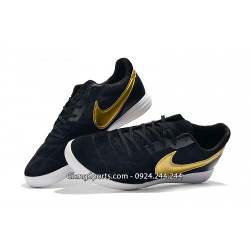 Giày futsal Nike Premier II đen