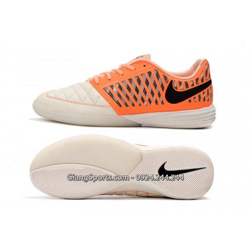 Giày futsal Nike Lunar Gato II cam
