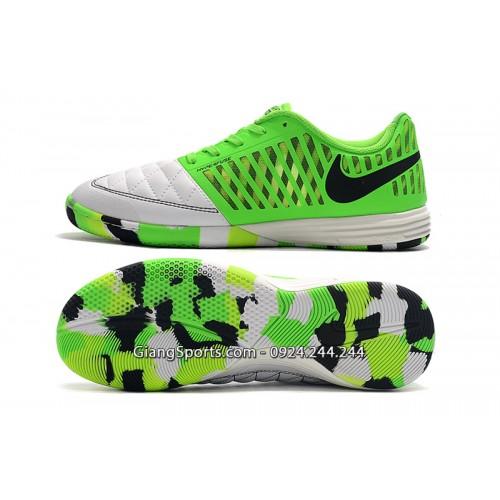 Giày đá banh Nike Lunar Gato xanh lá IC