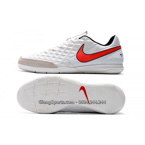 Giày đá banh Nike Tiempo Legend VIII Pro trắng IC