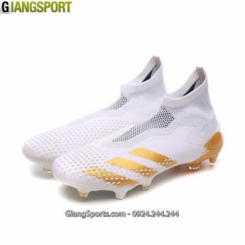 Giày sân cỏ tự nhiên Adidas Predator Mutator 20+ trắng FG