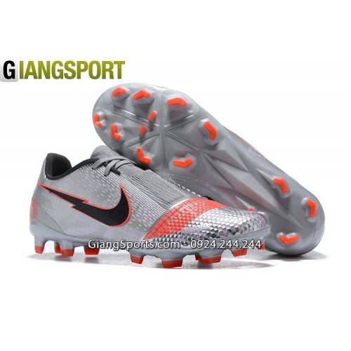 Giày sân cỏ tự nhiên Nike Phantom VNM Elite xám FG