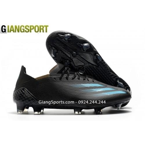 Giày sân cỏ tự nhiên Adidas X Ghosted đen FG