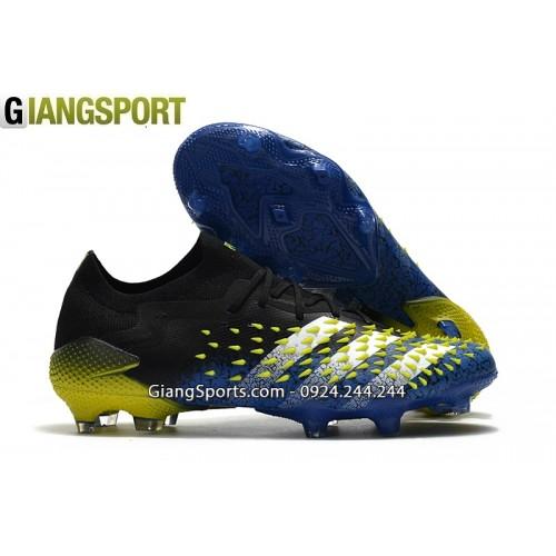 Giày sân cỏ tự nhiên Adidas Predator Freak có dây xanh FG