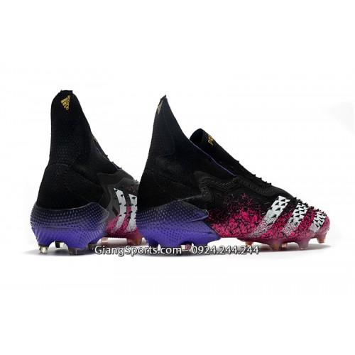 Giày sân cỏ tự nhiên Adidas Predator Freak ++ đỏ hồng FG