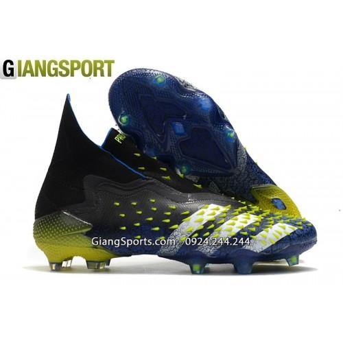 Giày sân cỏ tự nhiên Adidas Predator Freak ++ xanh FG