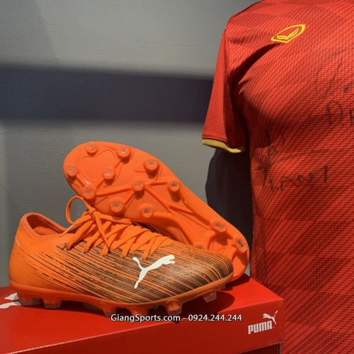Giày đá bóng Puma Ultra 1.1 cam FG (Chính hãng) - Size 42, 44