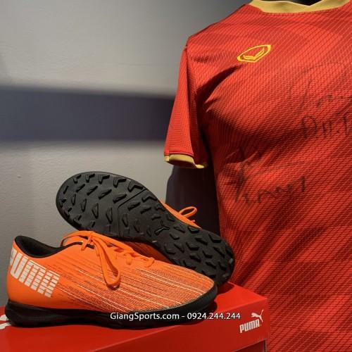 Giày đá bóng Puma Ultra 1.1 cam TF (Chính hãng) - Size 44.5